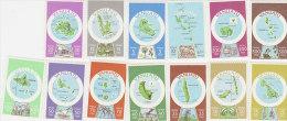 Vanuatu-1980 Definitives 280-292 English  MNH - Vanuatu (1980-...)