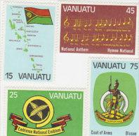 Vanuatu-1981 1st Anniversary Of Independence 311-314 MNH - Vanuatu (1980-...)