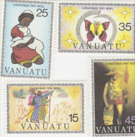 Vanuatu-1981 Christmas 315-318 MNH - Vanuatu (1980-...)