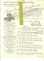 Belgique - BRUXELLES - Facture VAN GOITSENHOVEN - Manufacture D´appareils Photos – 1909 - REF 132 - 1900 – 1949