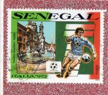 SENEGAL  --  PIAZZA  NAVONA  //  ROME  --  ITALIA  90   --  **  140 F.  **  --  POSTE  1990  -- BEG - Senegal (1960-...)