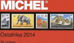 MICHEL Afrika Band 4/2 Katalog 2014 Neu 80€ Ostafrika :Burundi Kenia Comores Madagascar Mauritius Tanzania Rwanda Uganda - Libros & Cds