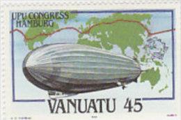Vanuatu-1984 UPU Congress Hamburg  372 MNH - Vanuatu (1980-...)