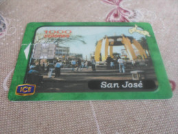 COSTA RICA - nice phonecard with chip