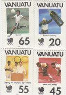 Vanuatu-1988 Olympic Games Seoul 480-483 MNG - Vanuatu (1980-...)