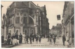 49 - SAINT-MARTIN-DU-BOIS - Place De L'Eglise - Edition Laroute - France