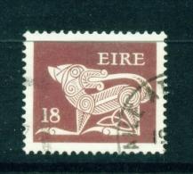 IRELAND  -  1971+  Celtic Symbol Definitives  Decimal Currency  18p  Used As Scan - Oblitérés