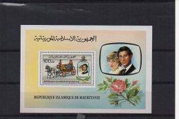 Mauritanie YT Bloc 32 XX / MNH Diana - Familles Royales