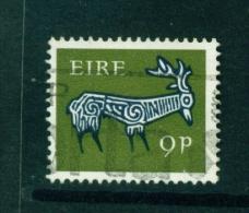 IRELAND  -  1968+  Celtic Symbol Definitives  9d  Used As Scan - 1949-... Republic Of Ireland