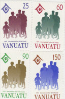 Vanuatu-1994 International Year Of Family  628-631 MNH - Vanuatu (1980-...)