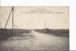 Boiry. Guerre 14-18. Croisement De Routes. Attelage Au Loin - Francia