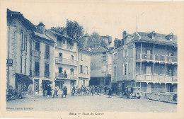 09 //SEIX   Place Du Centre   ANIMEE   édeit Toureille - Francia
