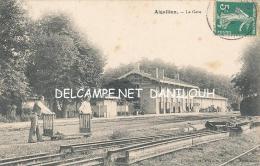 47 --- AIGUILLON   La Gare    Vue Intérieure  ** - France