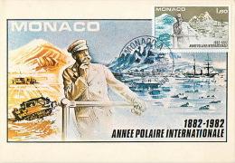 MONACO 1982 1564 100 YEARS OF THE FIRST INTERNATIONAL POLAR YEAR - International Polar Year