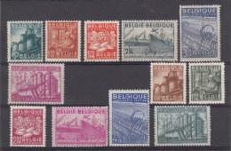 Nr 761/766, 767/772 **, Cote = 73 € (X13628) - Belgique