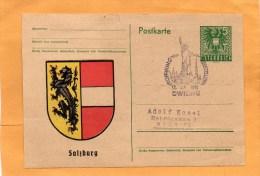 Austria 1945 Card - Ganzsachen