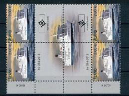 """Aland - Mi.Nr. 381 Gutter Block - """"Schiff"""" ** / MNH - Ålandinseln"""