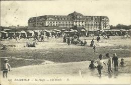 FRANCIA  CALVADOS  DEAUVILLE  La Plage - Deauville