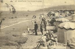 FRANCIA  CALVADOS  DEAUVILLE  La Plage Fleurie - Deauville