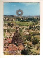 Le Puy En Velay (43) Le Rocher D'aiguille Et Le Chateau De Polignac - Le Puy En Velay
