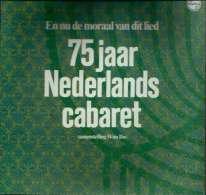 * 2LP Box *  75 JAAR NEDERLANDS CABARET - Samenstelling Wim Ibo - Humor, Cabaret