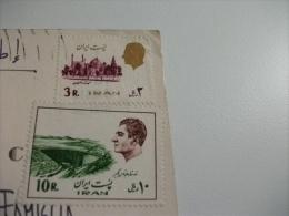 STORIA POSTALE FRANCOBOLLO COMMEMORATIVO Iran Teheran Multivedute - Iran