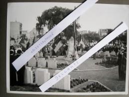 T8 / Photo Originale 24,5 X 18 -  GANSHOREN 18-08-1946 Commémoration De La Bataille De L´ Yser Guerre 14-18 WW1 - N°3 - Non Classés