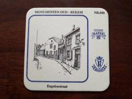 MONUMENTEN OUD REKEM N° 046 ( Brouwerij ROMAN - Sous Bock / Coaster / Onderlegger ) Zie Foto´s Voor Detail ! - Sous-bocks
