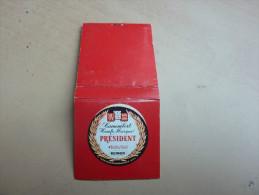 "Pochette D´allumettes SEITA ""Camembert PRESIDENT"" - Matchboxes"