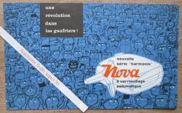 """Brochure """"NOVA  Gaufres"""" 1958 (Wafels) - Old Paper"""
