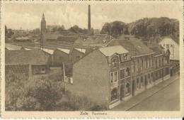 Zele.  -   Panorama;   1934  Getaxeerde Kaart  Naar Mechelen - Zele