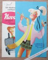 """Brochure """"NOVA  Wafels"""" 1956 (Gaufres) - Old Paper"""