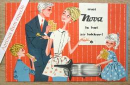 """Brochure """"NOVA  Wafels"""" 1958 (Gaufres) - Old Paper"""