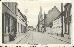 Overmere    Dorpstraat;   1912 - Berlare
