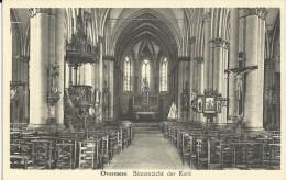Overmeire    Binnenzicht Der Kerk. - Berlare
