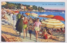 CPA DPT 06 JUAN LES PINS LA PLAGE En 1938!! - Antibes