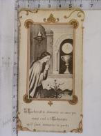Image Religieuse - Chapelle De L'Institution Jeanne D'Arc ANGERS - Communion 1911 Juliette Naveau - Images Religieuses