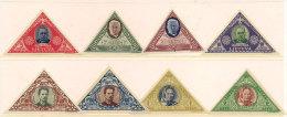 Litauen Lithuania 1933 Lietuvos vaikas - Lithuanian children, Mi 372-379,  unused