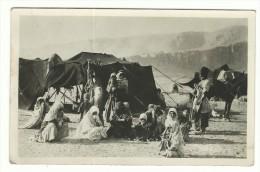 """Post Card - """"Accampamento Nel Deserto"""" - """"Encampment In The Desert"""" - Altri"""