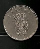 DANMARK 1 Krone 1979 - Denmark