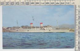 Piroscafi Navi Da Guerra  Ferryboat  Ships  Traghetti  Conte Grande / Conte Biancamano Spedita Dall'argentina - Dampfer