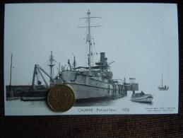 Bateaux Marine Militaire , Navire De Guerre , Marius Bar Phot. , CALMAR   Patrouilleur 1933 - Guerre
