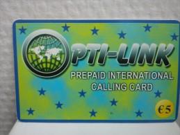 Prepaidcard Belgium PT -Link Used Rare