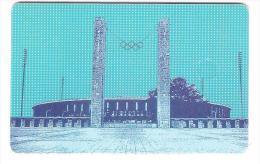 GERMANY  - O1171  11/97 - LBB Landesbank Berlin - Olympiastadion - Stadion - Stadium - Olympia - Deutschland