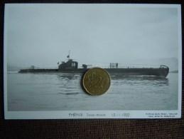 Batiment  Marine Militaire , Sous-Marin De Guerre  , Marius Bar Phot. , PHENIX   15-11-1932 - Unterseeboote