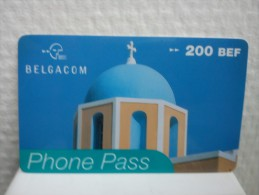 Prepaidcard Belgium Phone Pass(Mint,Neuve)2 Photo's Very  Rare