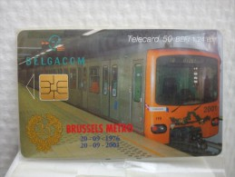 CP 196 Brussels Metro With Blister (Mintneuve) Only 500 Ex Made Rare - Belgien