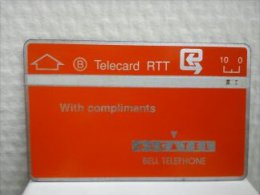 P 2 Alcatel Bell Telephone 804 B Used Very Rare Catalogue 135 euro