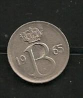 BELGIE BELGIQUE 25 Centimes 1965 FR - 1951-1993: Baudouin I