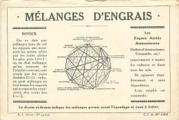 Themes Div-ref H580- Agriculture - Engrais - Publicité Melanges D Engrais - - Cultures